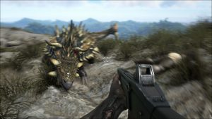 Ark MMO Shooter Dinosaurier