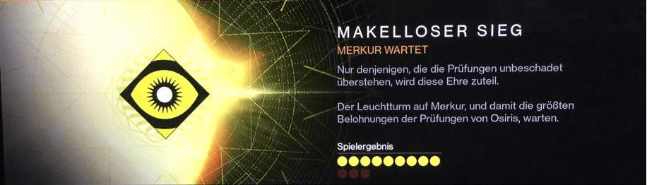 Destiny-Makelloser-Sieg