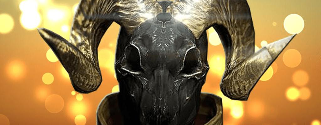 """Destiny: Warlock-Helm """"Der Widder"""" – das stärkste Rüstungsteil in Haus der Wölfe?"""