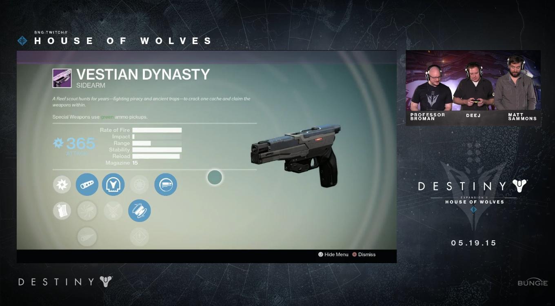 Destiny-Vesta