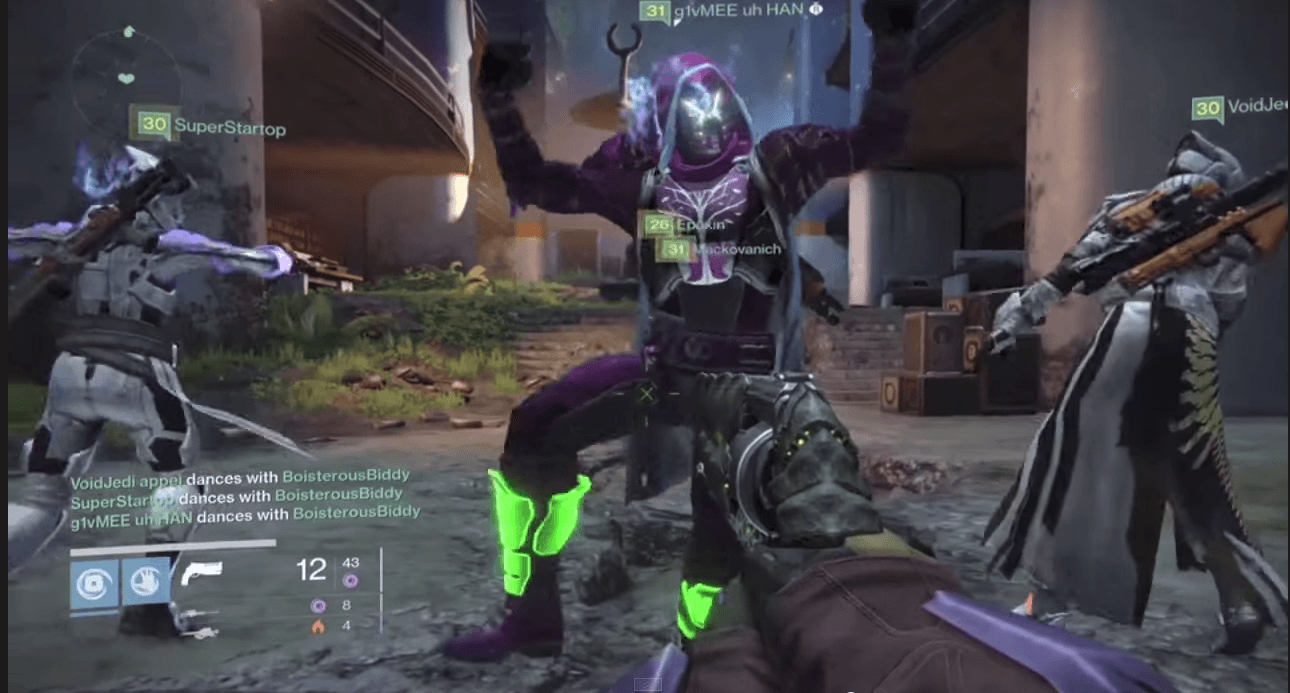 Destiny-tanzt