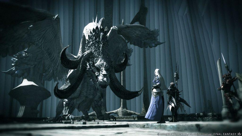 Final Fantasy XIV Heavensward Drache