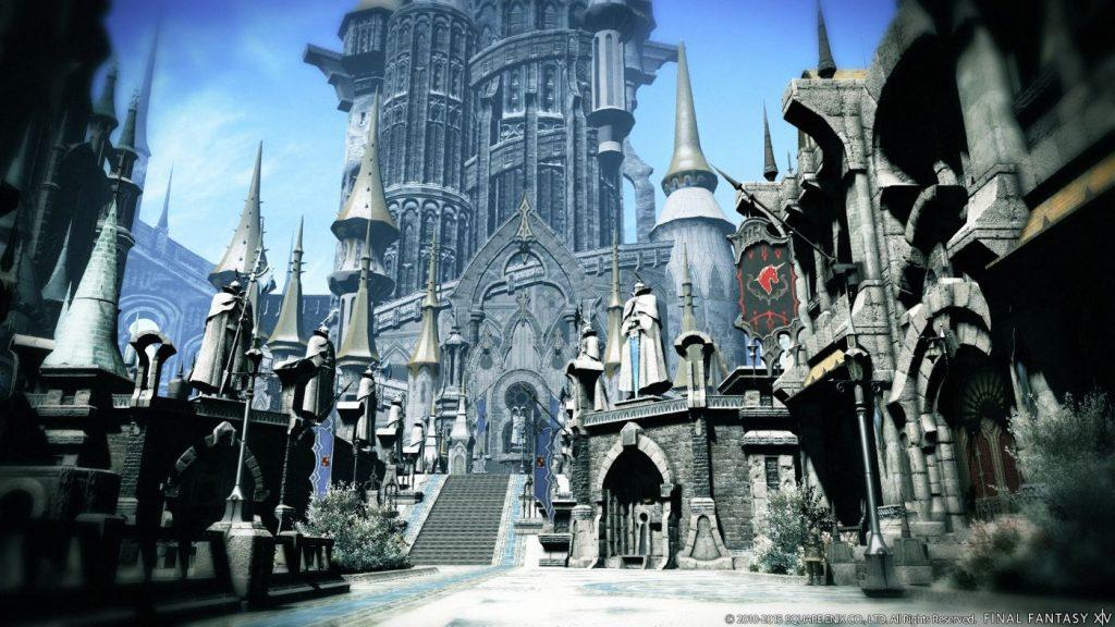 Final Fantasy XIV Zonen