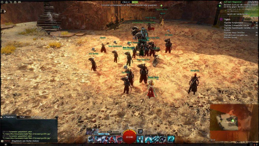 Guild Wars 2 Heart of Thorns Widergaenger