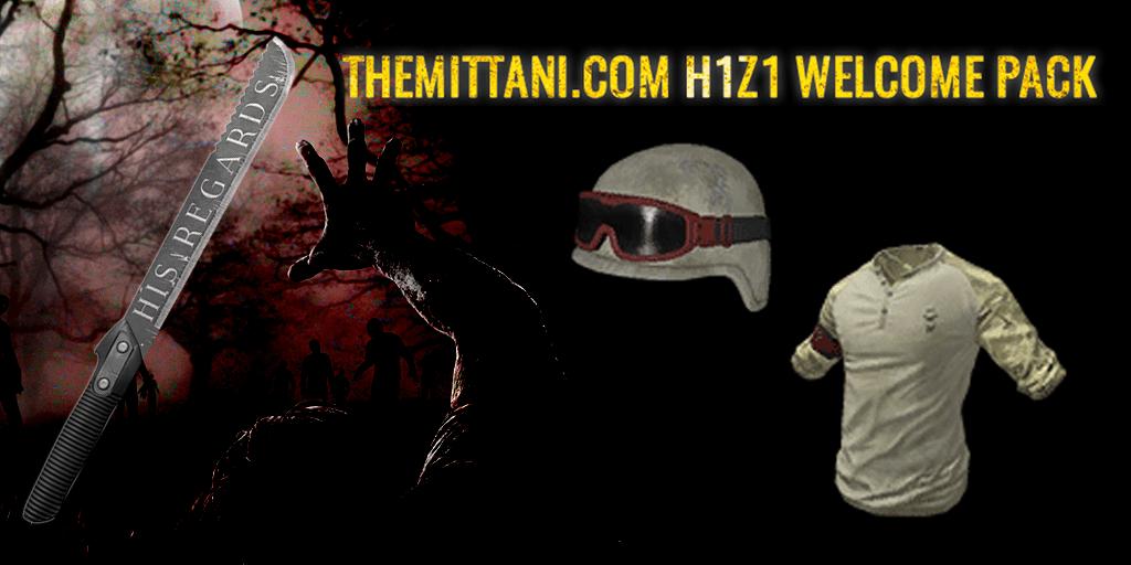 H1Z1-Mittani-Welcome-Paket