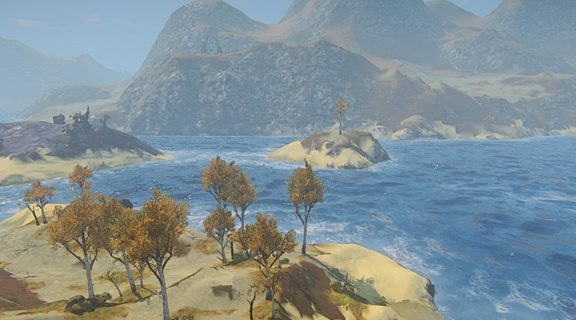 Landmark-Insel