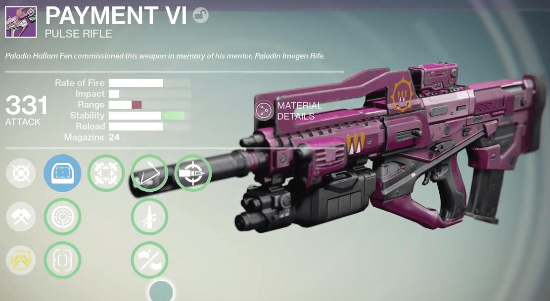 Queen-Impulsgewehr