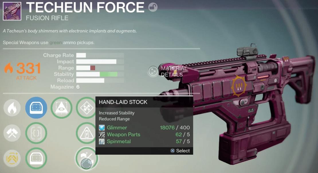 Queen-Fusionsgewehr