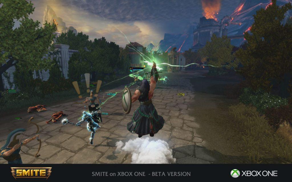 Smite Xbox One Zeus
