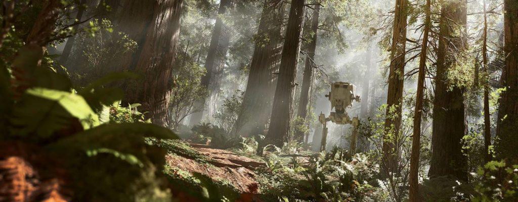 Star Wars Battlefront: Mit dem Richtmikro durch die Wälder Endors