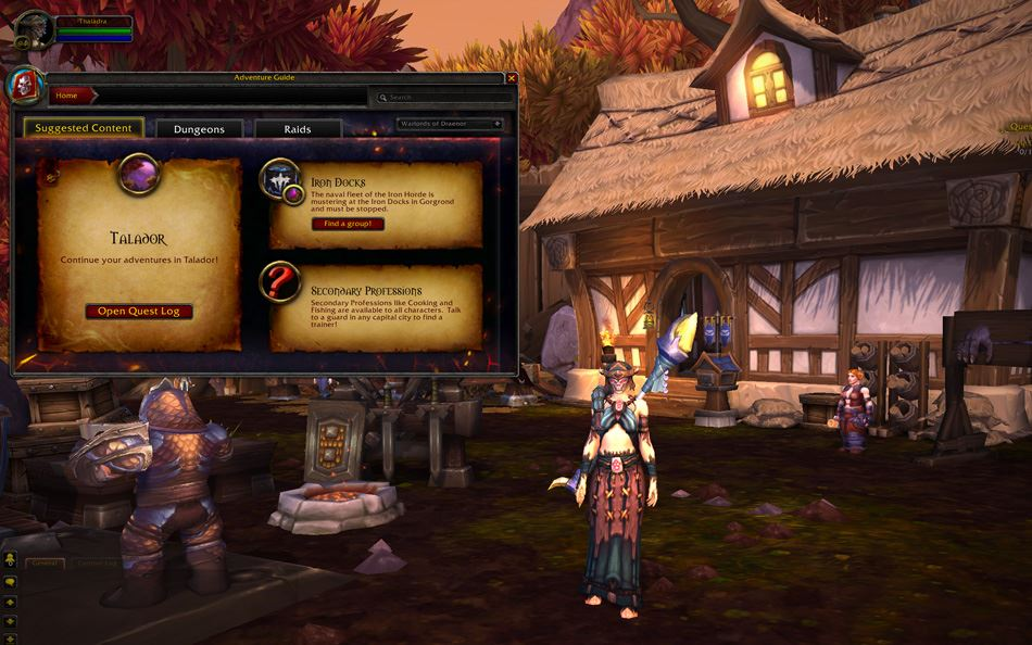 WoW Abenteuer-Guide