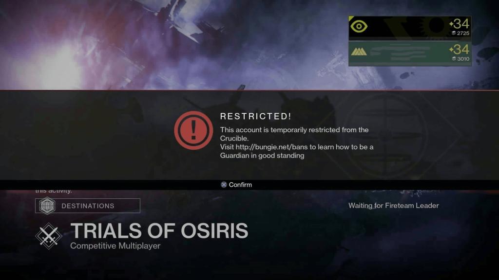 Destiny-Ban