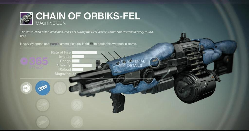 Destiny-Chain-Maschinengewehr-Variks