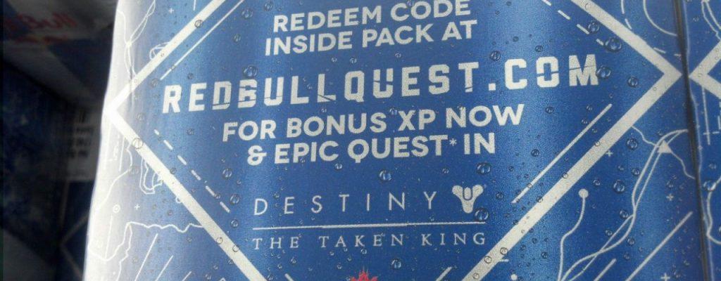 """Destiny: Diese Red-Bull-Sache bringt eine """"zeit-exklusive, mehrteilige Quest"""" und Bonus-EXP"""