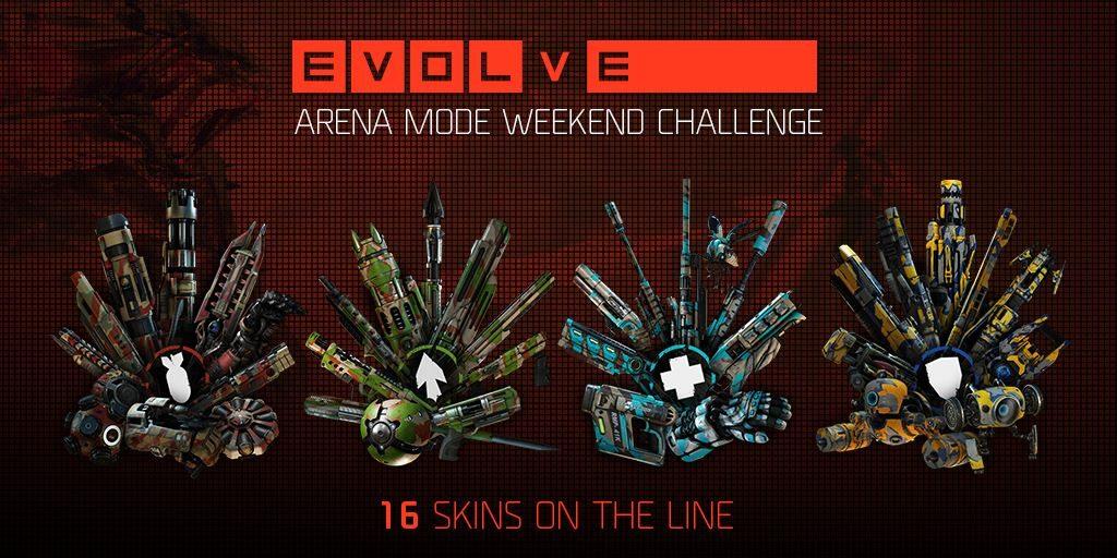 Evolve Arena Challenge Arena Skins