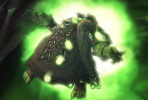 Gul'dan wehrt sich - doch Archimonde oder sein Pakt zwingen ihn in das Portal.