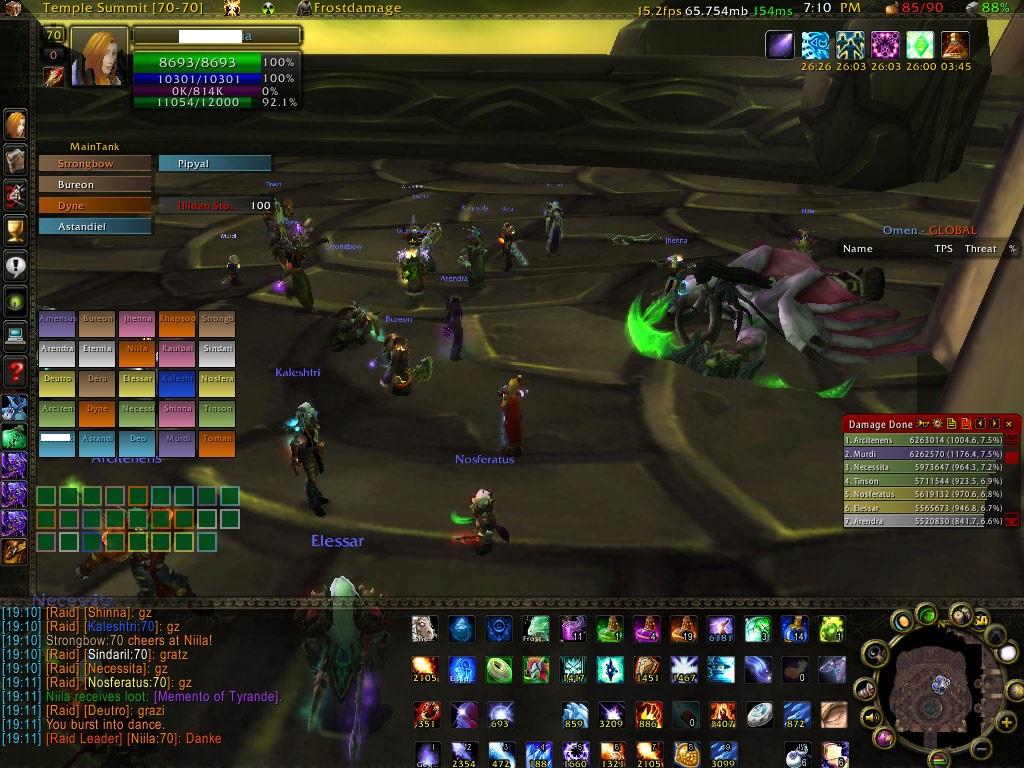 Screenshot Illidan WoW Burning Crusade