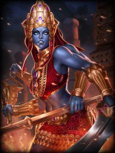 Smite Crimson Death Kali