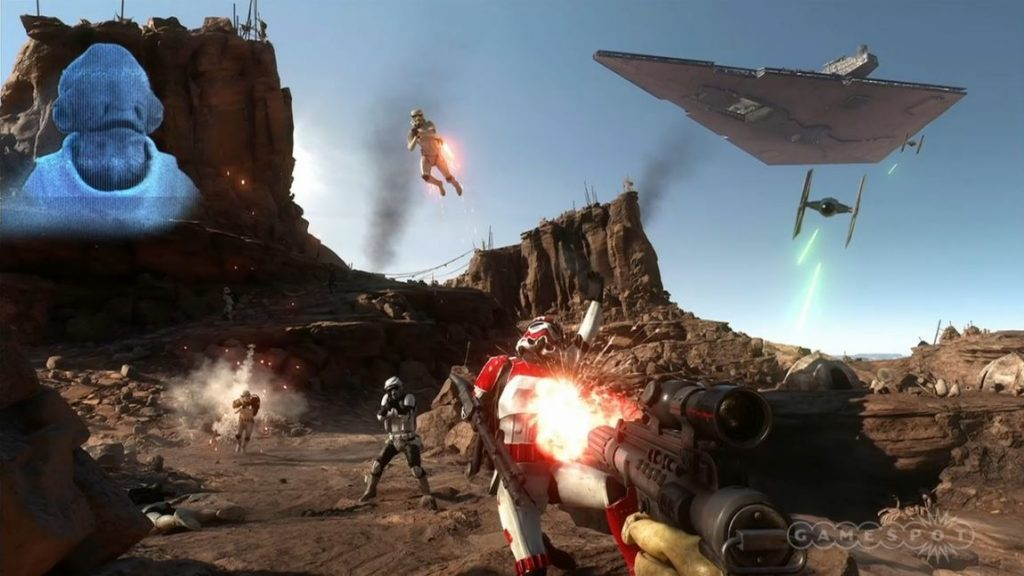 Star Wars Battlefront Mission