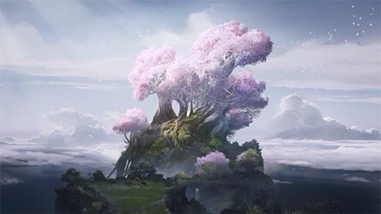 Die Tränen Veliks erschuffen einen magischen Baum.