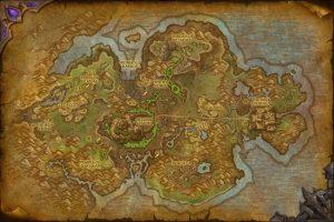 Tanaan jungle map wow