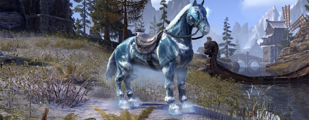 The Elder Scrolls Online bekommt ein echt cooles Pferd