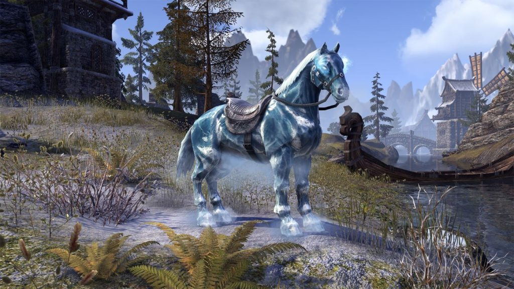 The Elder Scrolls Online Frostmahr Reittier