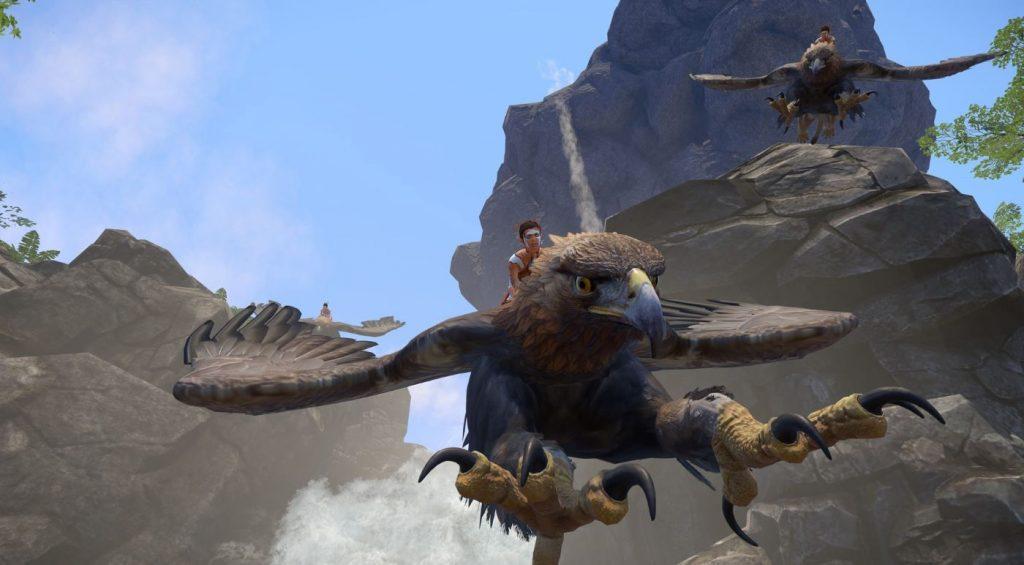 Wander MMO Flug
