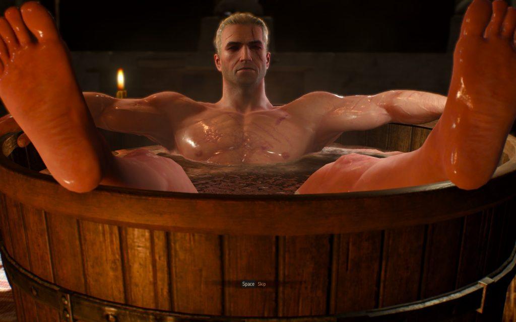 Witcher 3 Bath