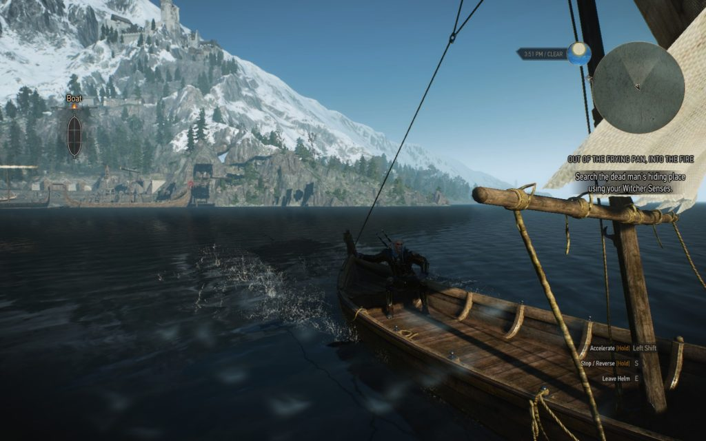 Witcher 3 Skellige Boat