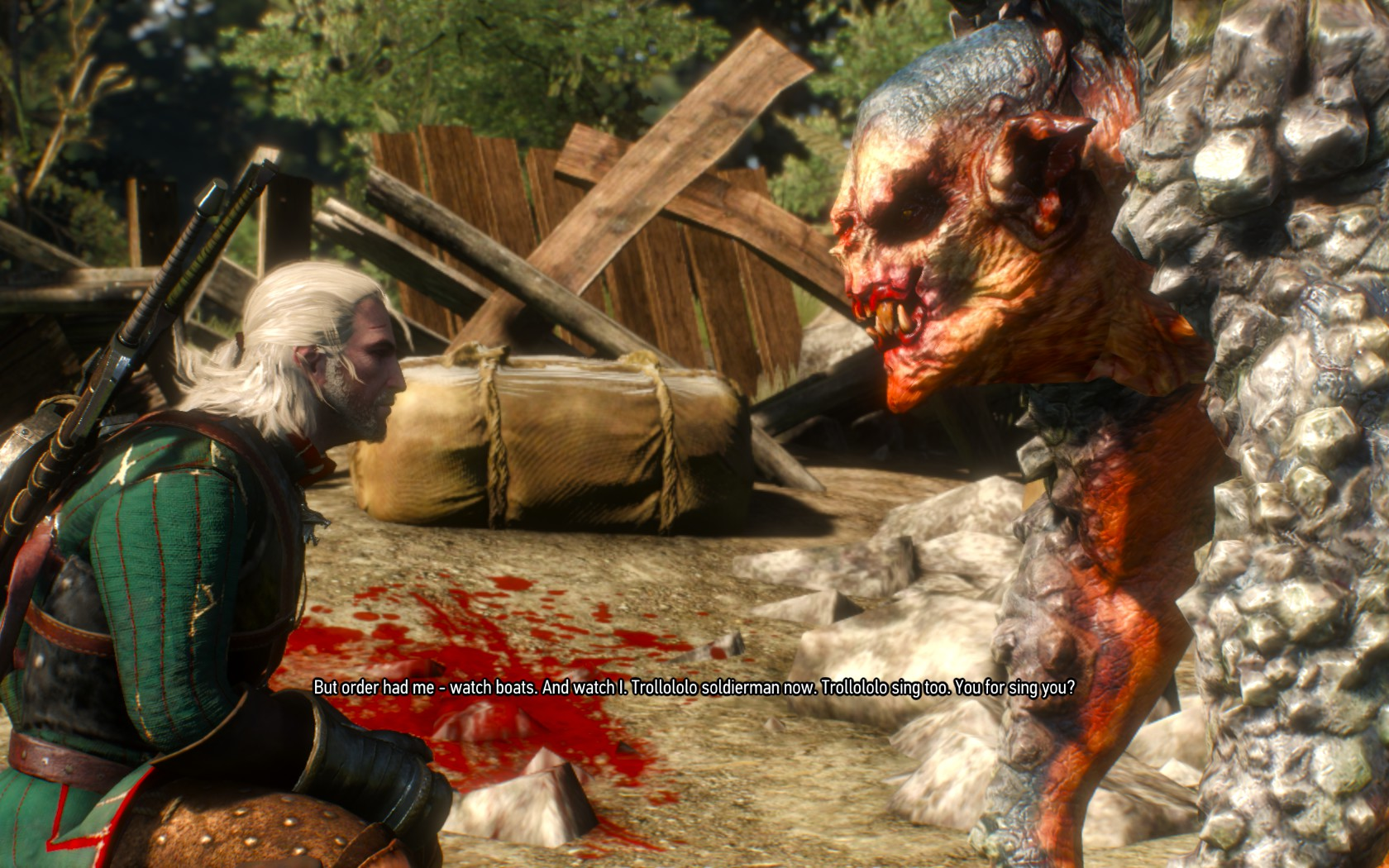 Witcher 3 Troll Trololol