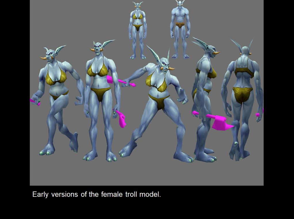WoW Troll Early Model