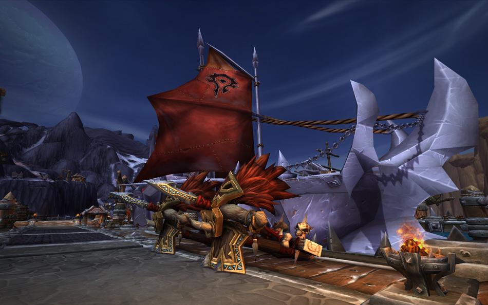 World of Warcraft Ship Destroyer Horde
