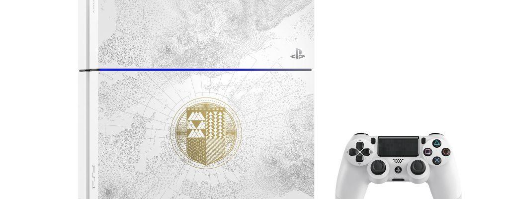 Destiny: Das weiße Playstation-Bundle im Destiny-Look kann bestellt werden