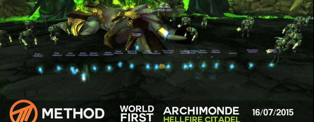 World of Warcraft: World First – Archimonde nach 472 Versuchen gelegt