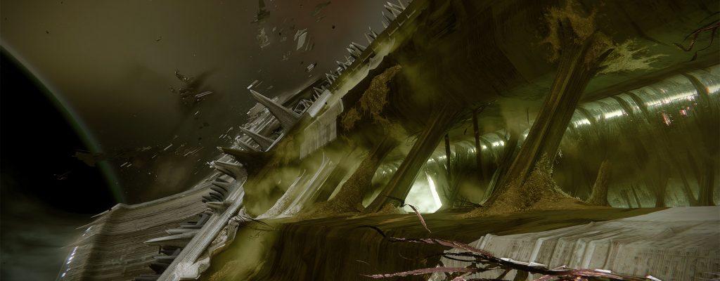 Destiny: Concept-Artworks und Design-Geheimnisse des Grabschiffs