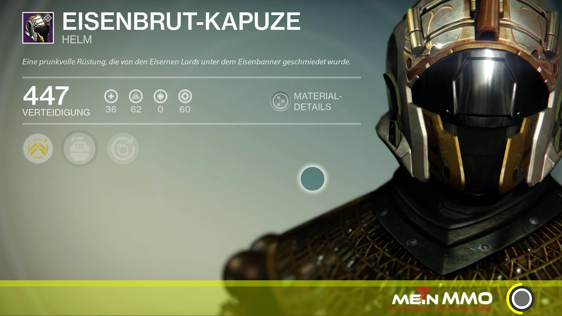 Destiny-Eisenbrut-Kapuze