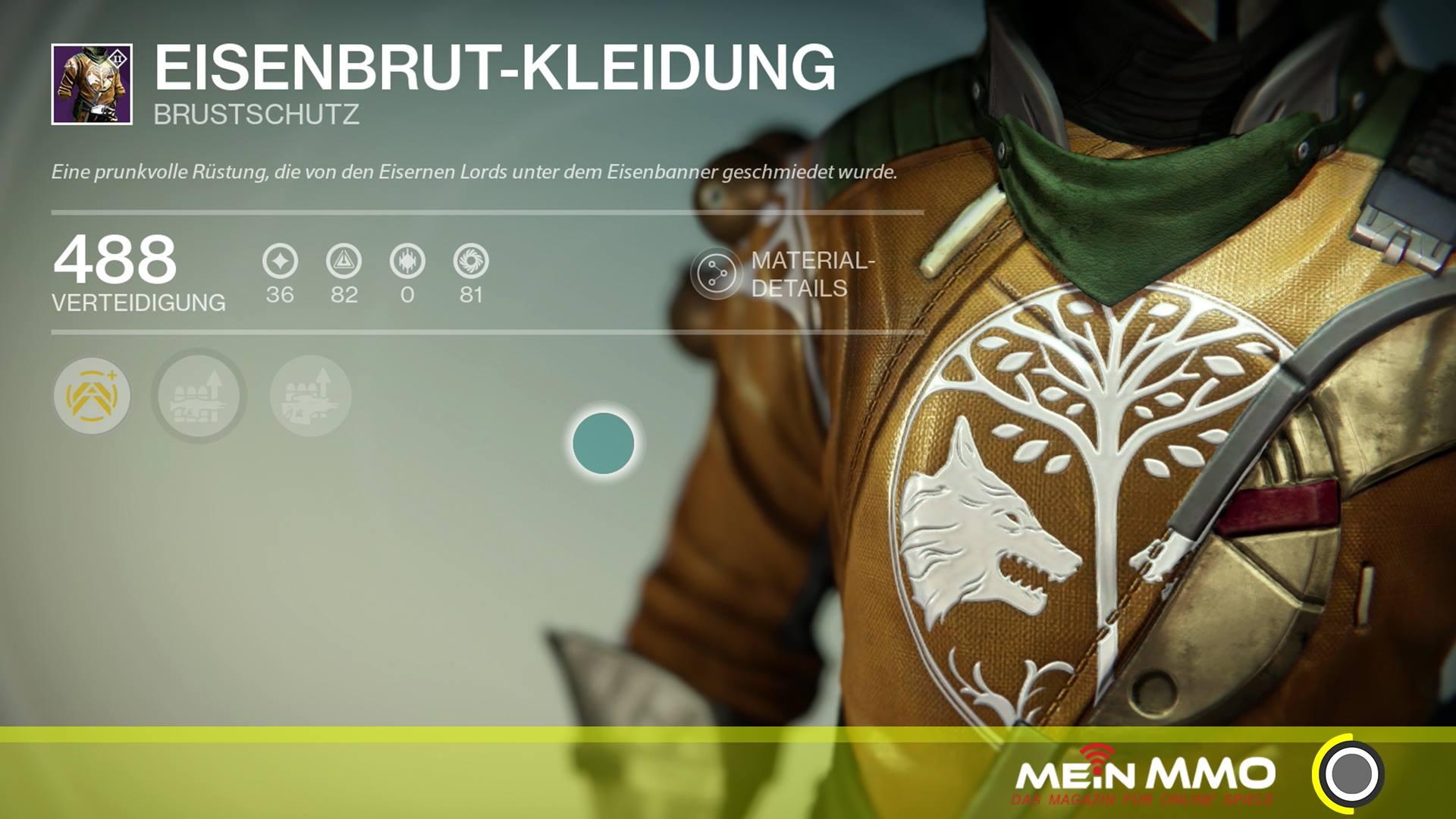 Destiny-Eisenbrut-Kleidung