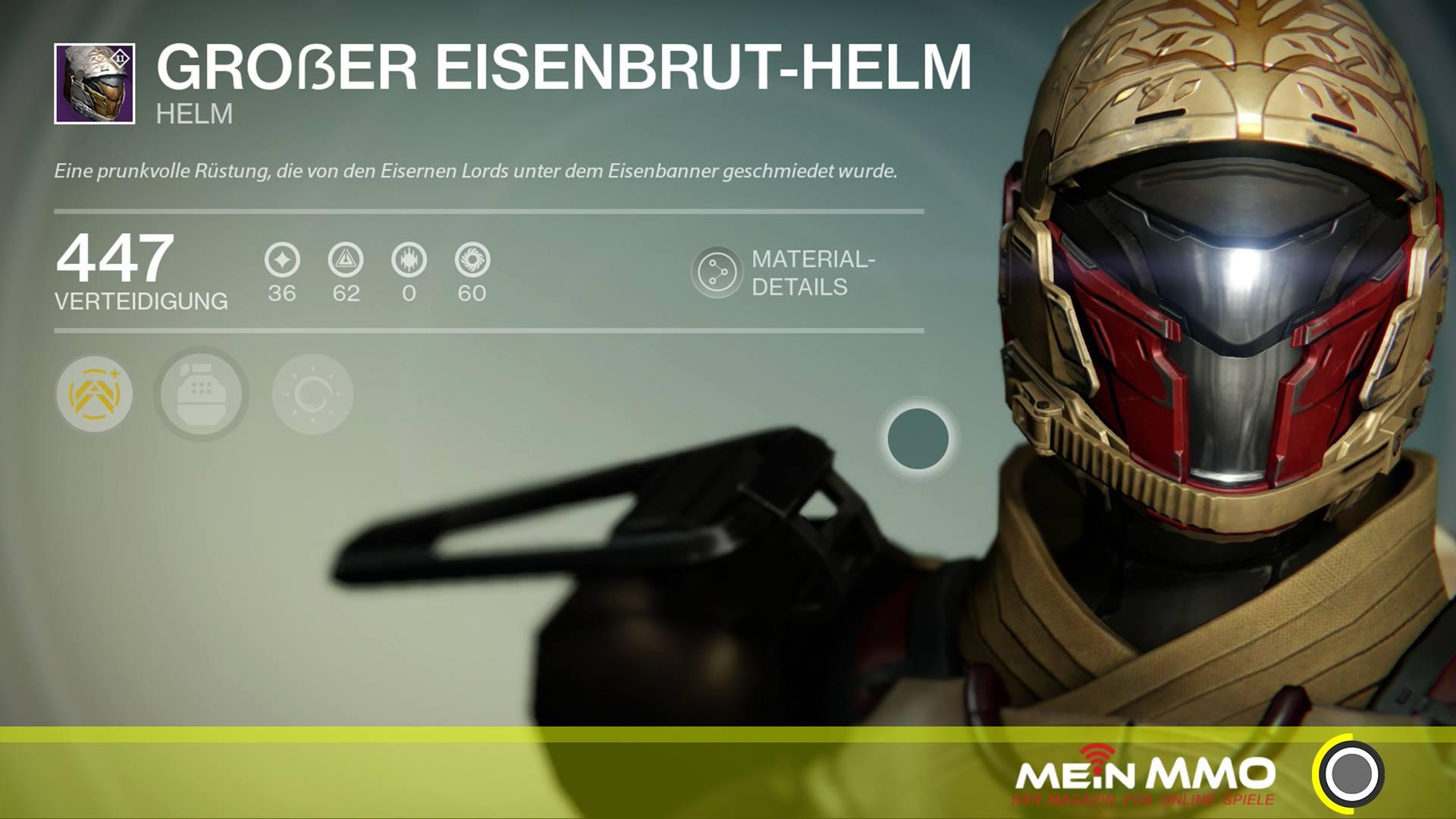 Destiny-Eisenbruthelm