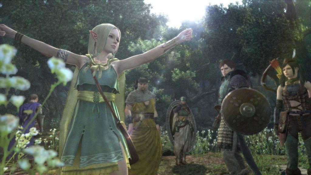Dragons Dogma Online Elves