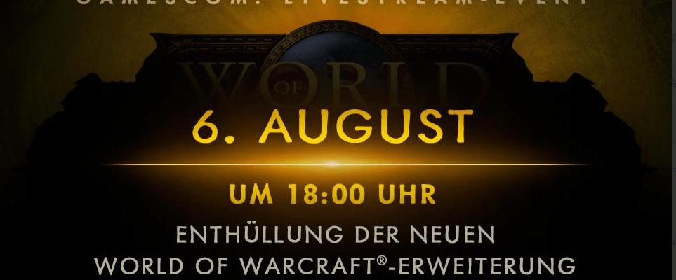 World of Warcraft: Neue Erweiterung wird enthüllt