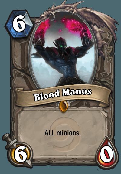 HearthStone Blood Manos