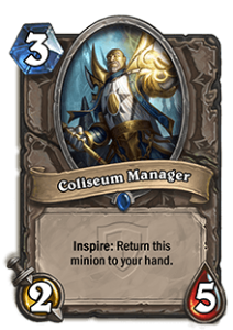HearthStone Coliseum Manager