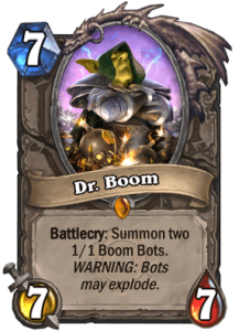 HearthStone DrBoom