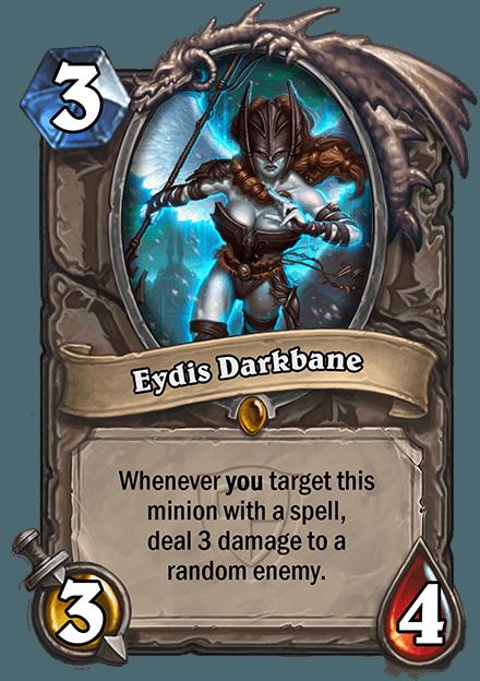 HearthStone Eydis Darkbane