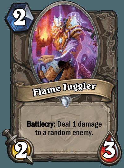 HearthStone Flame Juggler
