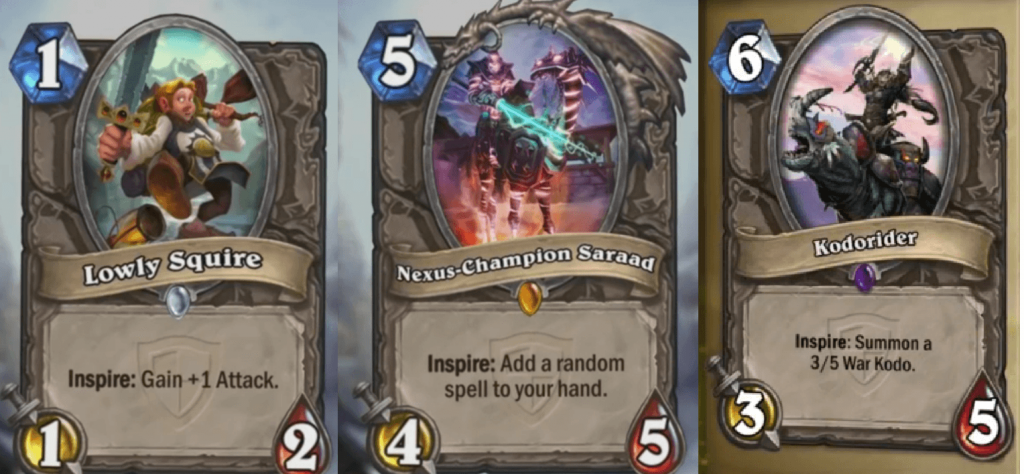 HearthStone Grand Torunament Cards 1