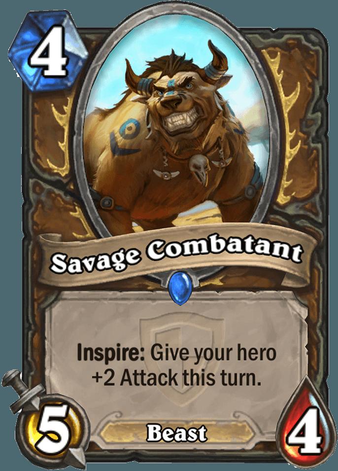 HearthStone Savage Combatant