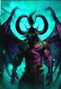 Vor allem Illidan geht es an den dämonischen Kragen. Seine Metamorphose wird massiv geschwächt.