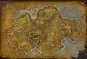Jungle Tanaan WoW Map